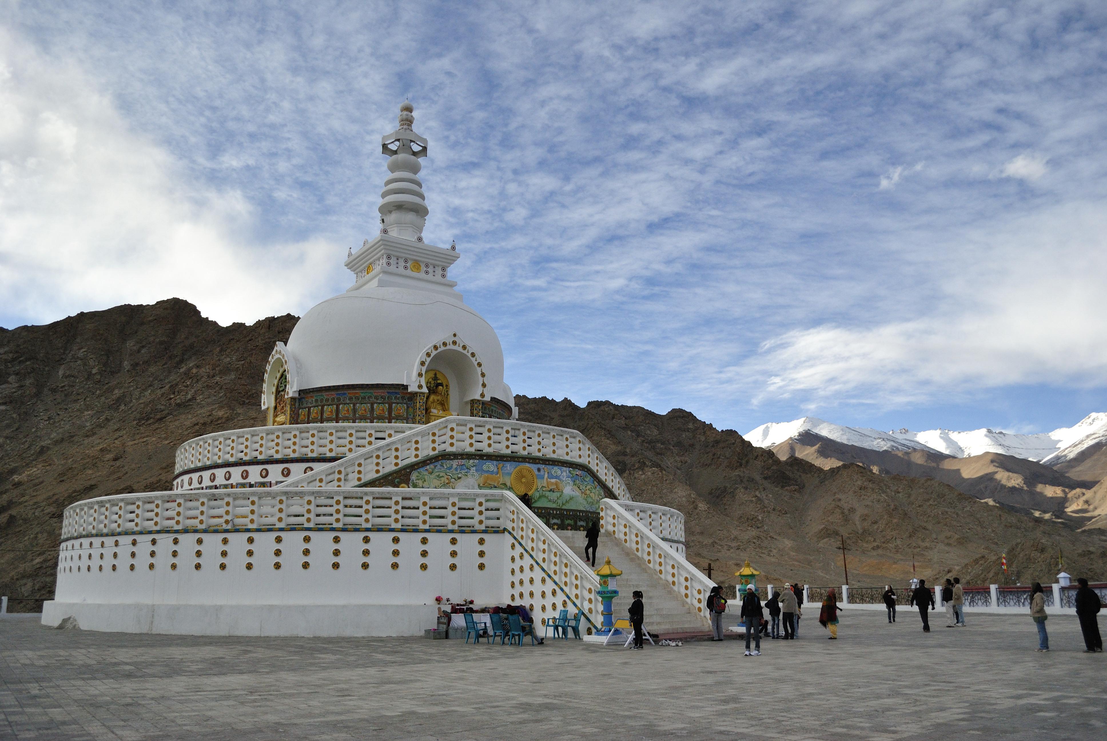 Shanti Stupa Adventures Of Potli Baba
