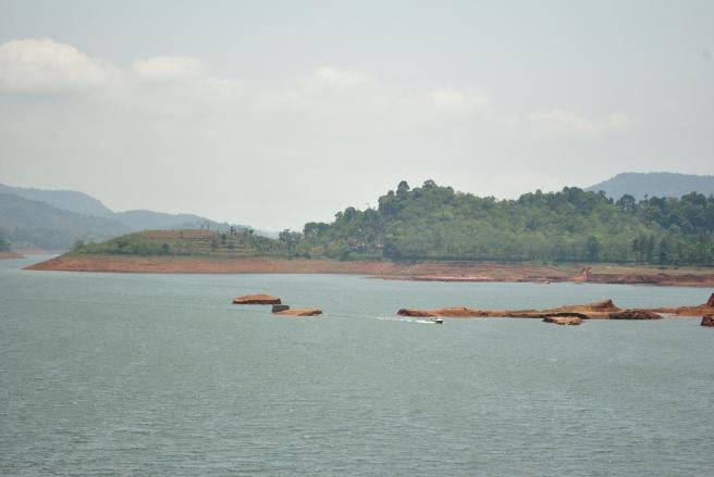 A view of Banasura Sagar.