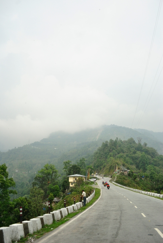 On the way to Paro from Phuent Sholing.
