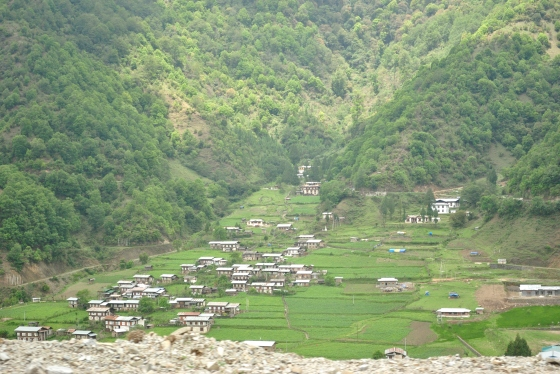 Another town on the way to Samdrup Jongkar.