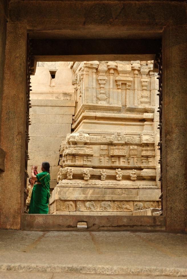View through the doorway.