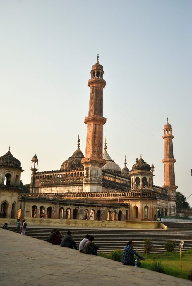 Bada Imambara - a massive structure with the infamous Bhool Bhulaiya - secret passageway.