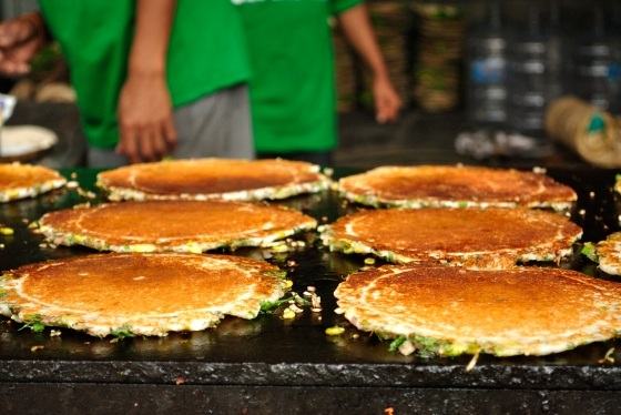 Avarekai Dosa. One of this is lunch enough.