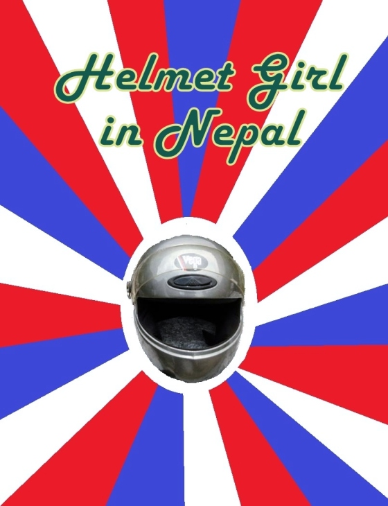 Helmet Girl in Nepal v1