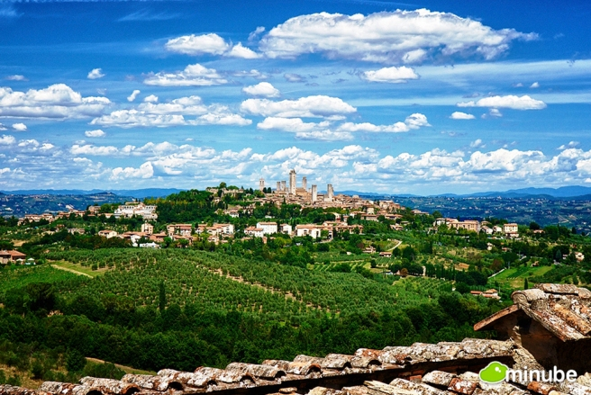 San Gimignano, Tuscany. Picture via Huffington Post/Minube.
