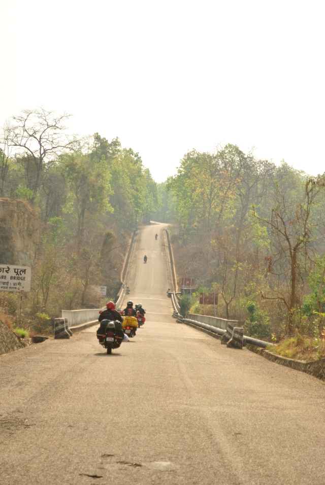 Smooth tarred roads, the last stretch that we saw before days and days of off-roading.