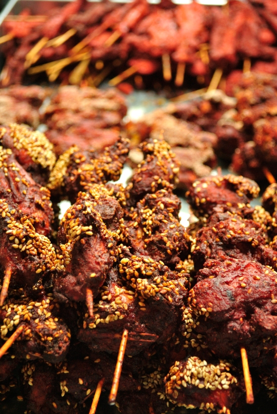 Sesame-crusted Fried Chicken. Superbly marinated in spices and lip-smackingly delicious.