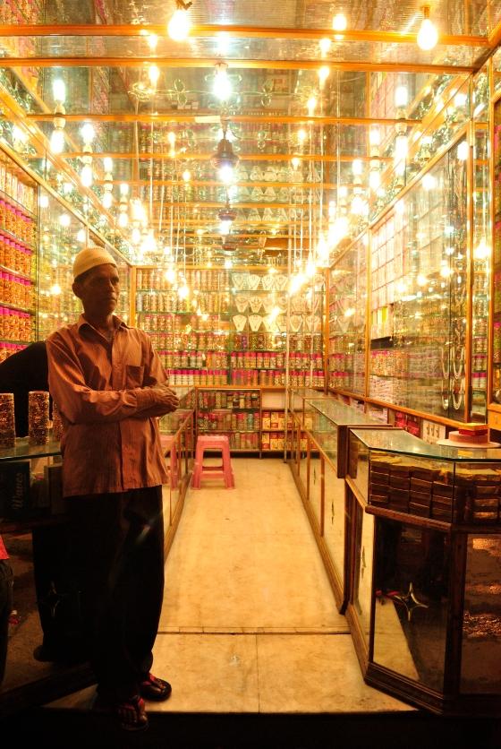 Shimmer, sparkle, glitter - the bangles of Laad Bazaar.